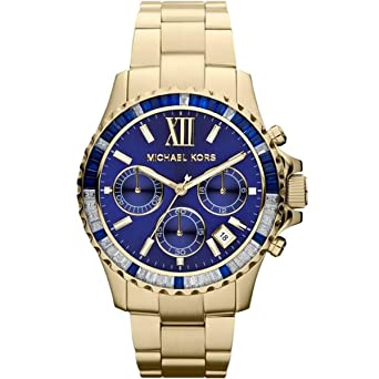 3e082cb4266c Image Unavailable. Image not available for. Color  Michael Kors MK5754 Mens  Golden Everest Chronograph Watch