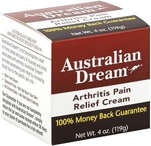 Australian Pain Relief Cr Size 4z Australian Dream Arthritis Pain Relief Cream 4z