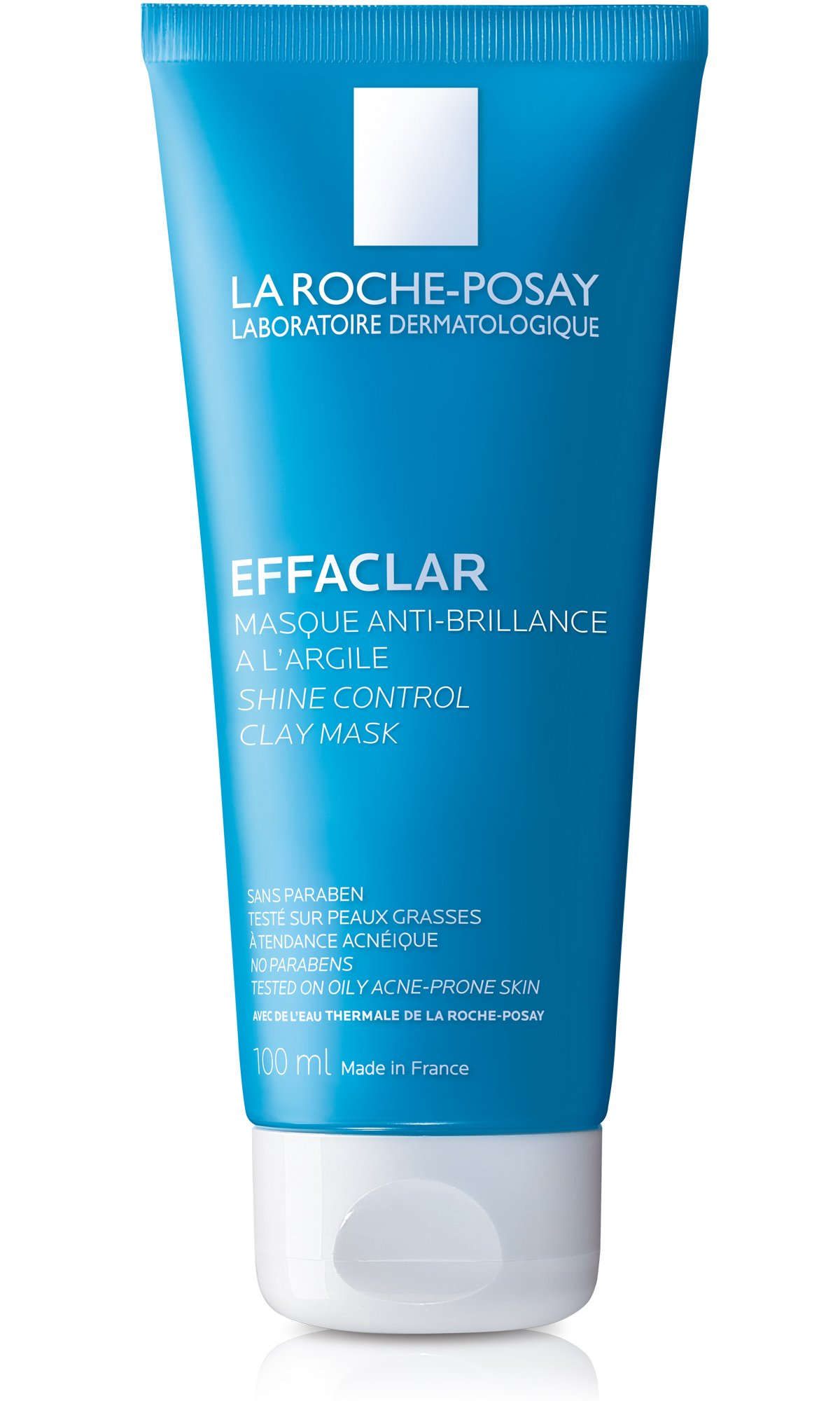 La Roche-Posay Effaclar Clarifying Clay Face Mask for Oily Skin, 3.38 Fl. Oz.