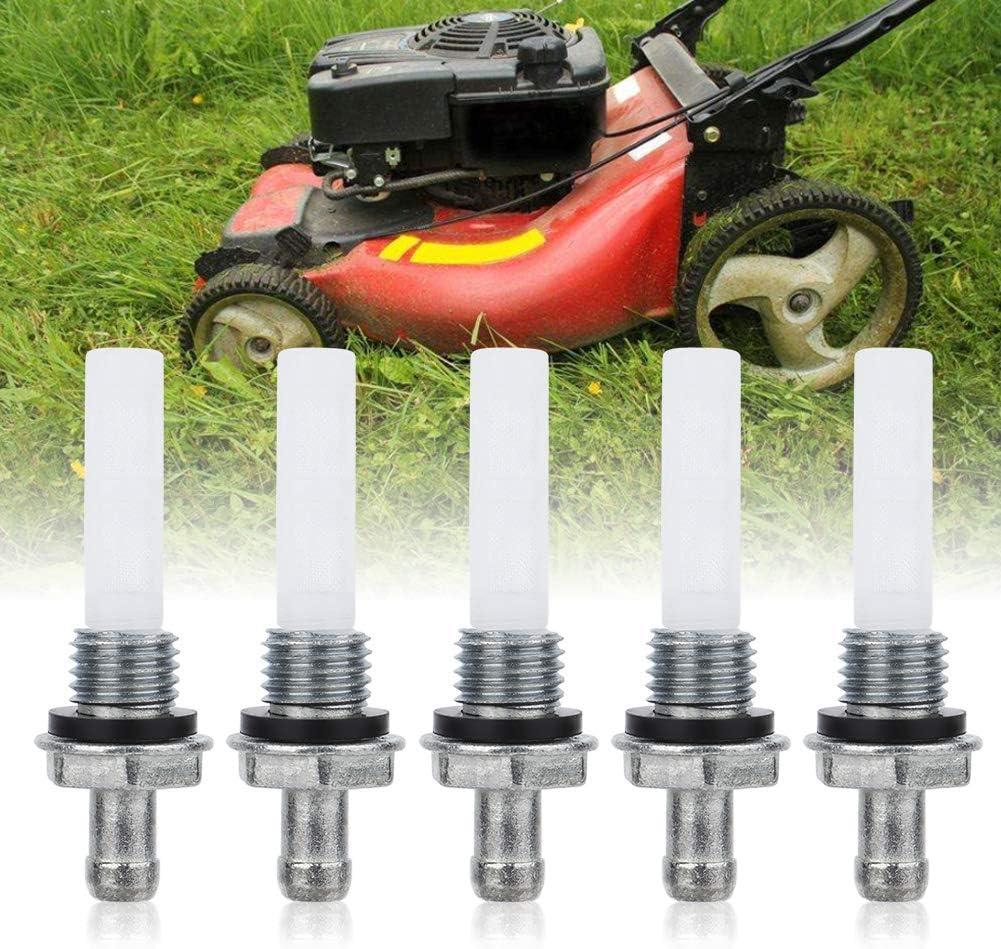 5pcs joint de gaz filtre de connecteur de r/éservoir de carburant en m/étal pour GX160 GX200 GX240 GX240 GX340 GX390 tondeuse tondeuse tondeuse tondeuse tondeuse