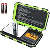(Upgradaed) Brifit Digital Mini Scale, 200g /0.01g Pocket Scale, 50g calibration weight, Electronic Smart Scale, 6 Units…