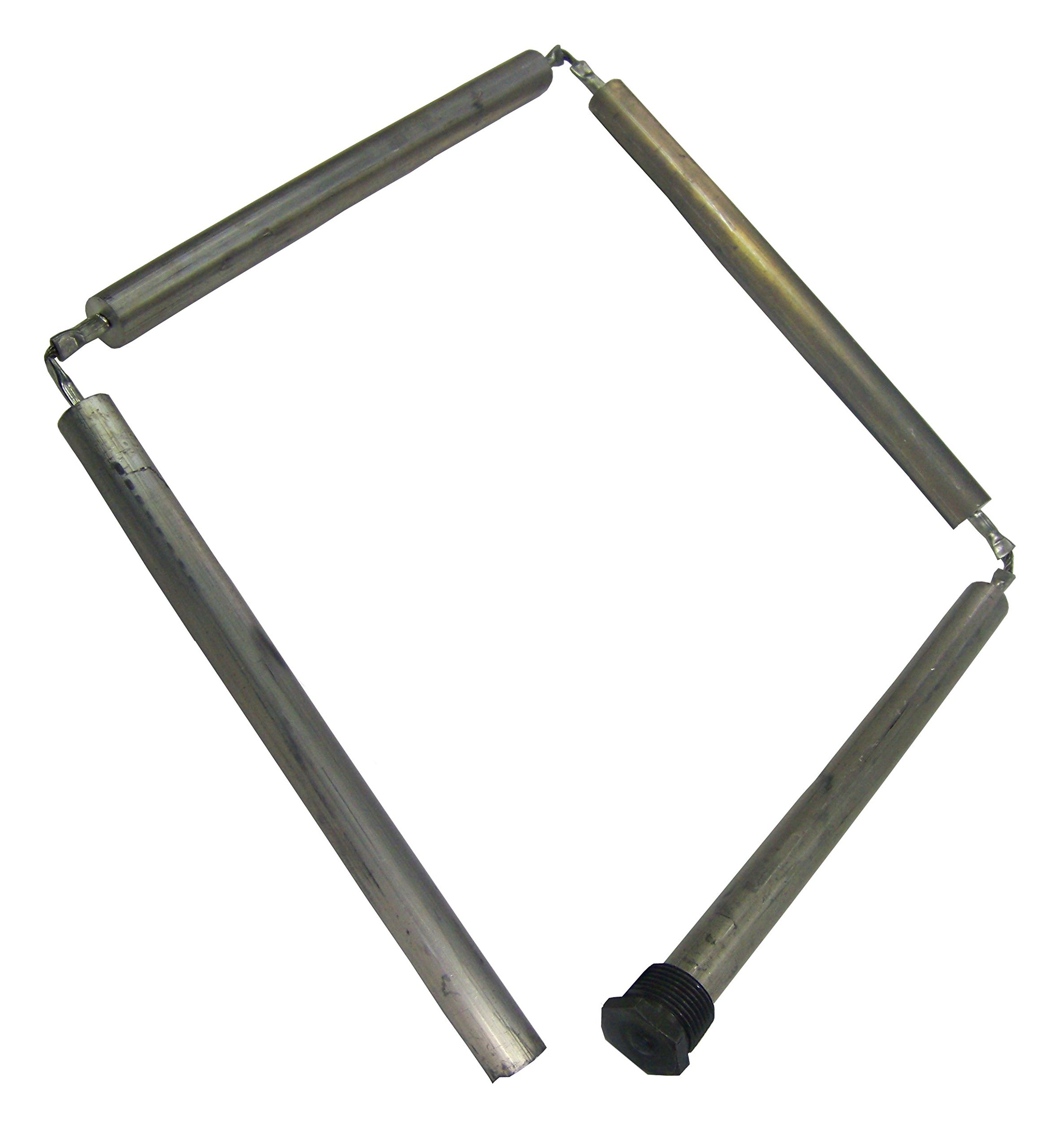 Blue Lightning 79098 Residental Magnesium Flexible Anode Rod, Hex Plug, 44-Inch