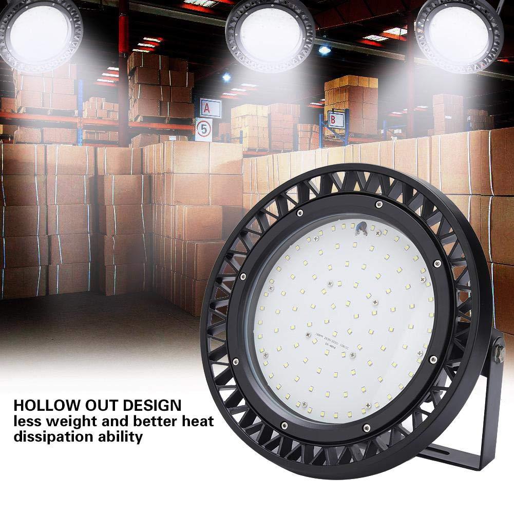 EBTOOLS LED Lamp, Waterproof LED Lamp Flat High Bay Light Cool White 110W by EBTOOLS