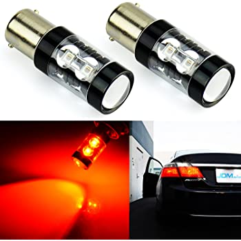JDM ASTAR 1200 Lumens Extremely Bright 144-EX Chipsets 1156 1141 1073 7506 LED Bulbs with Projector For Backup Reverse Lights Xenon White