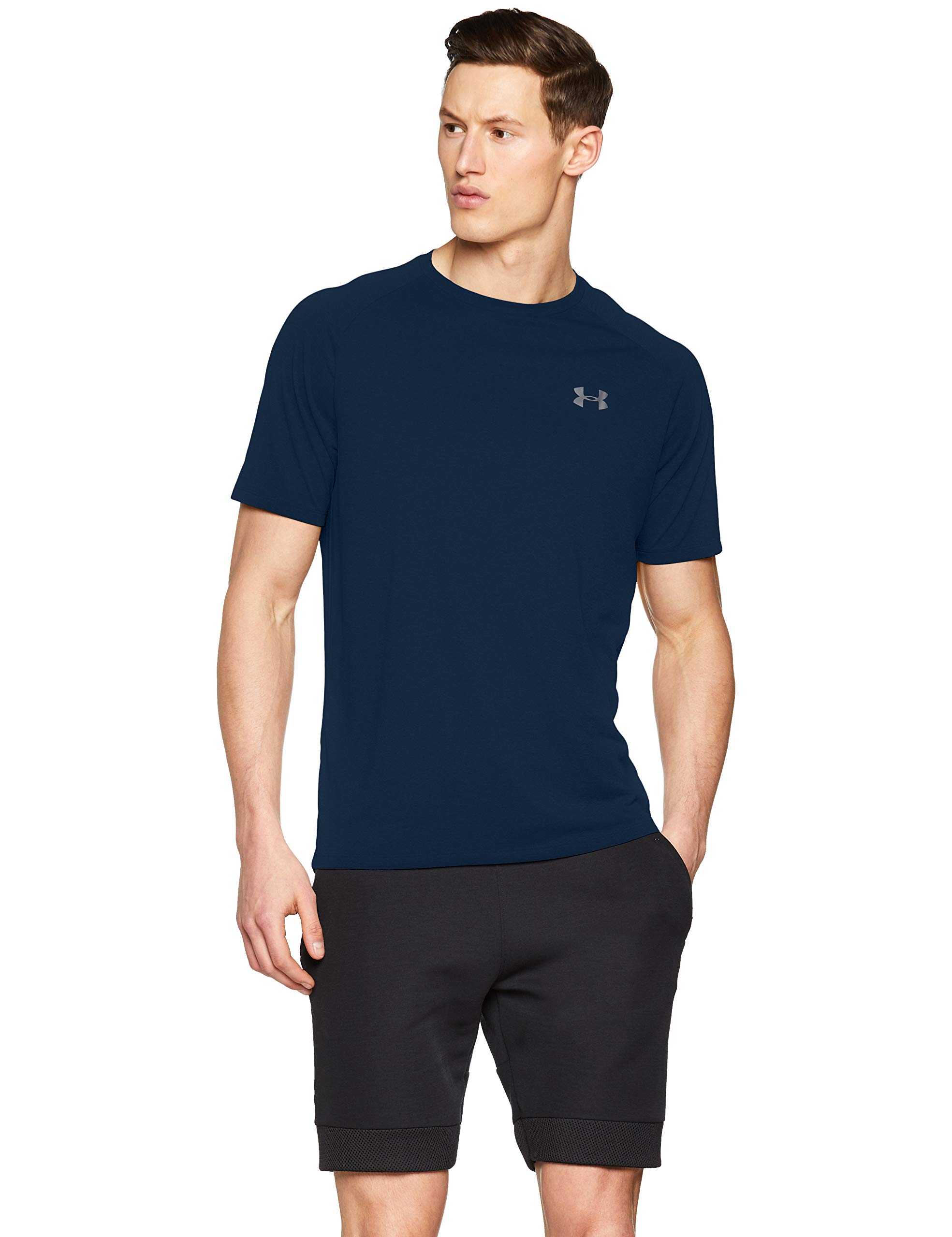 Under Armour Men's Tech 2.0 Short Sleeve T-Shirt, Academy (408)/Graphite, 3X-Large by Under Armour (Image #1)