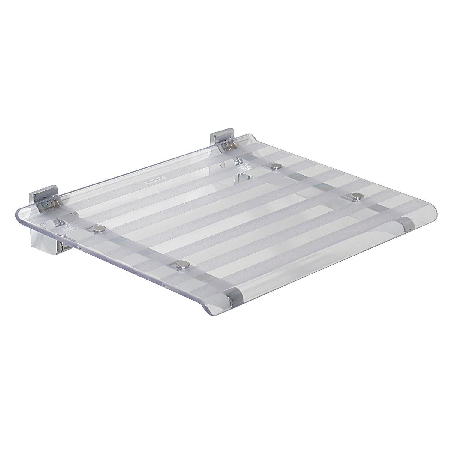 Transparent Koh-I-Noor - Folding Shower seat, Koh-I-Noor Collection Leo - bluee, in Stock