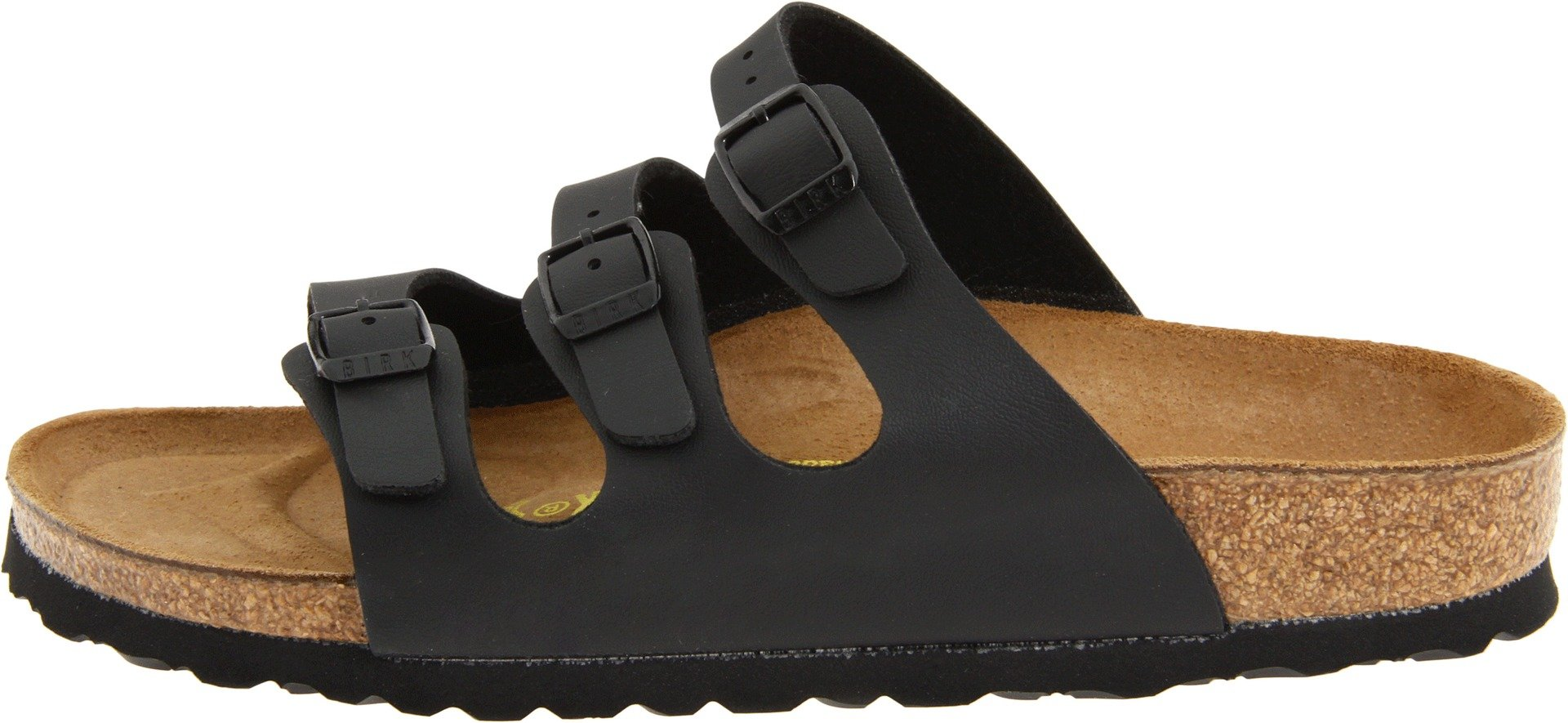 Birkenstock Women's Florida Sandals,Black,38 N EU / 7-7.5 AA(N) US by Birkenstock (Image #5)
