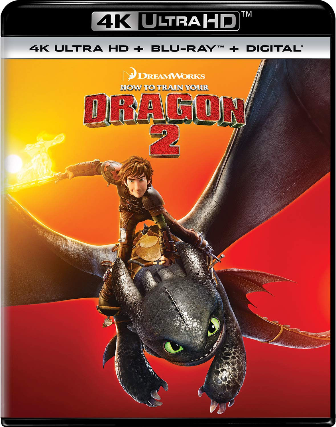 4K Blu-ray : How To Train Your Dragon 2 (With Blu-ray, 4K Mastering, Digital Copy, 2 Pack)