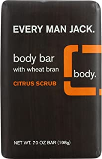 product image for Every Man Jack Bar Soap - Body Bar - Citrus Scrub - 7 oz - 1 Unit - (Pack of 3)