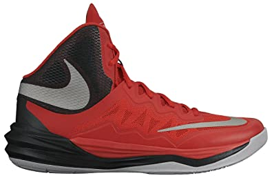 b19f5a3fe9 Nike Men s Prime Hype DF II Basketball Shoe Red Black Grey Reflect Silver