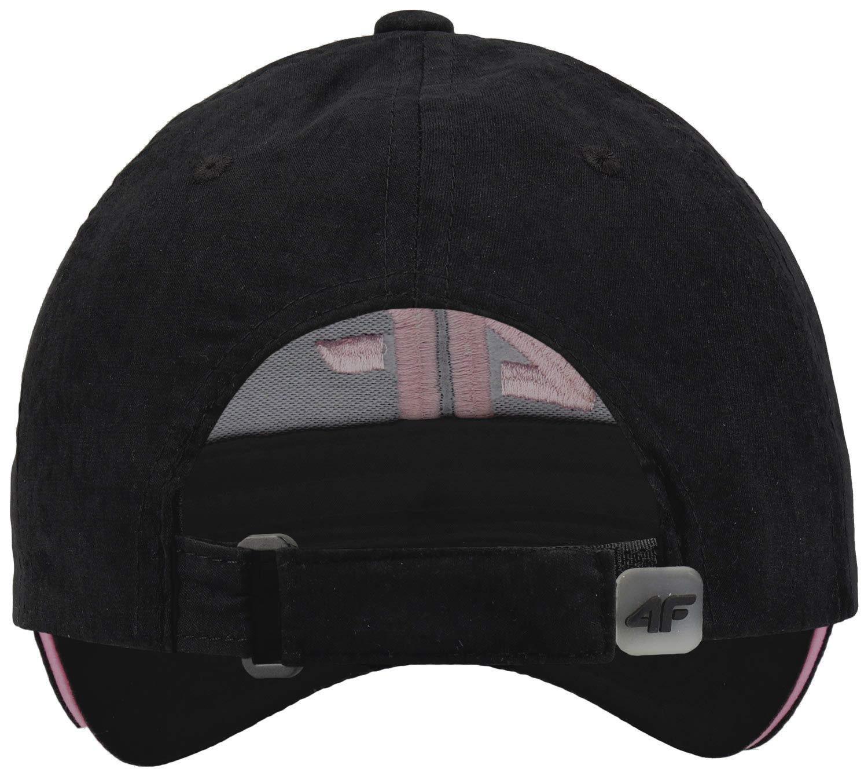 Kappe mit gro/ßem Logo 4F Baseball Cap Damen Baseballm/ütze Einstellbar Basecap