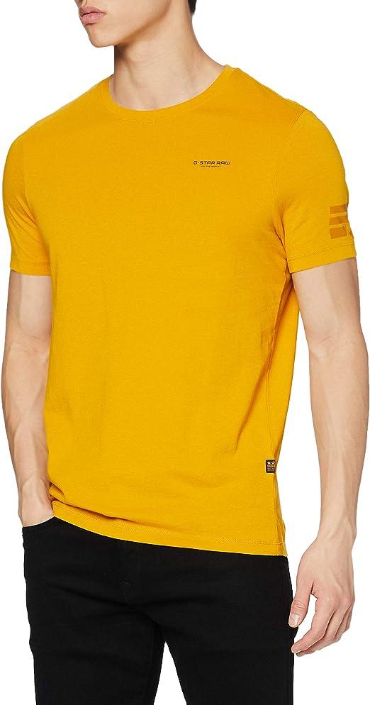 TALLA XXL. G-STAR RAW Text Graphic Slim Camiseta para Hombre