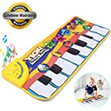 Amison New Touch Play Keyboard Musical Music Singing Gym Carpet Mat Best Kids Baby Gift
