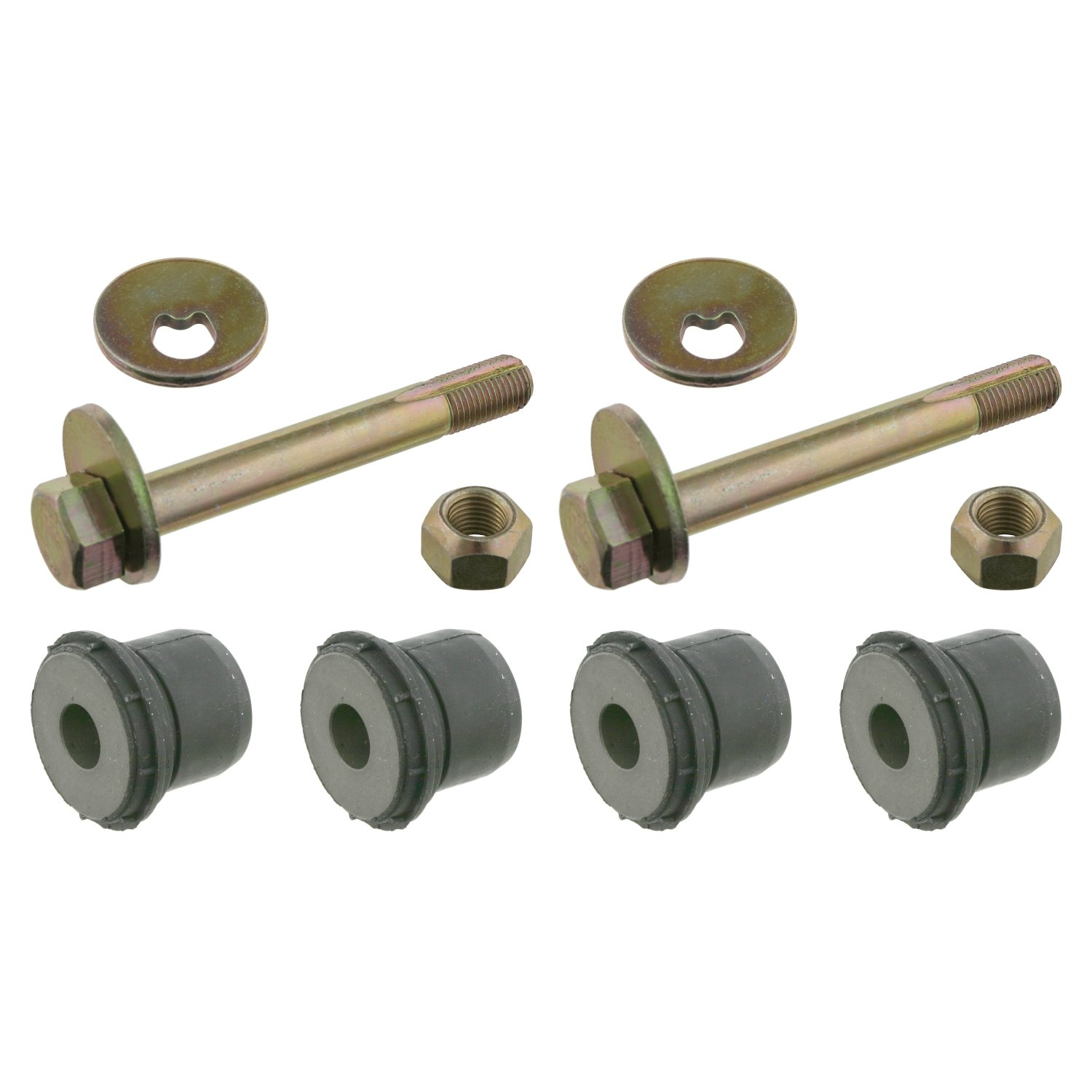 febi bilstein 01692 control arm bushing kit single set (bottom front axle, on both sides) - Pack of 1