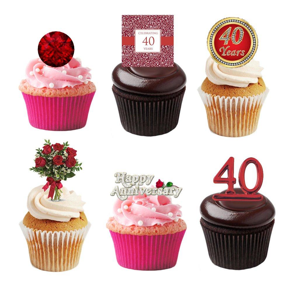 40th Anniversary Decorations Amazon