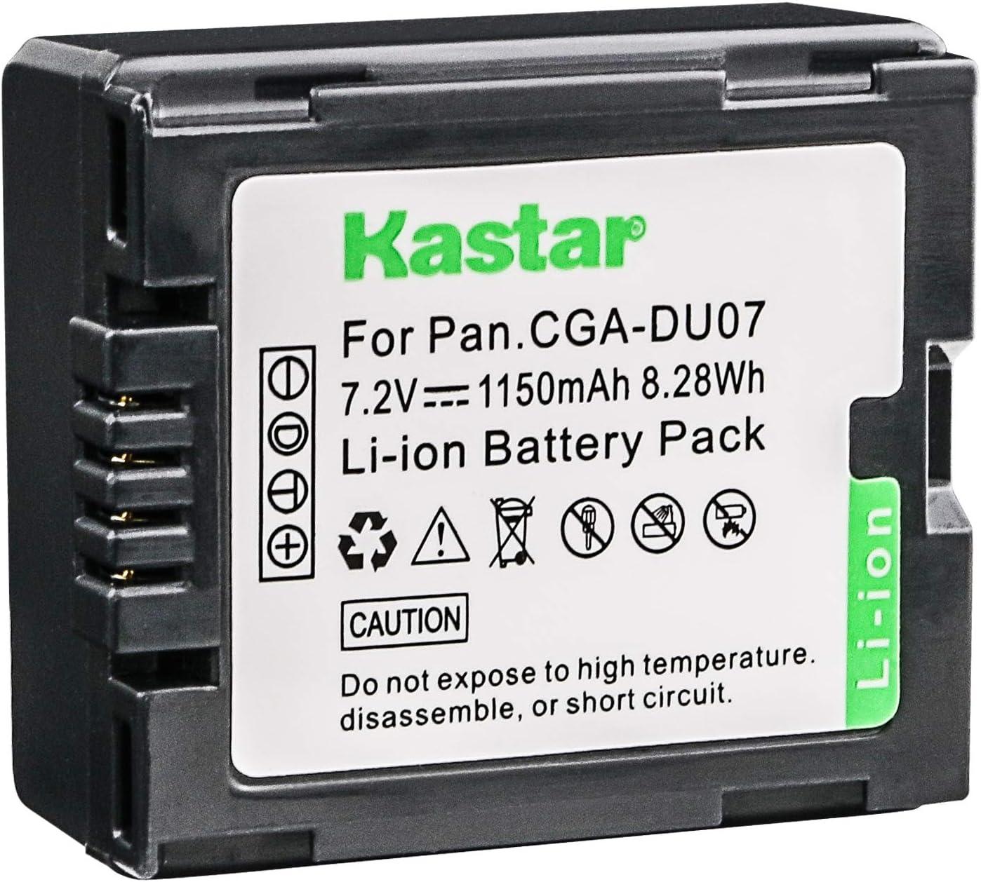 Amazon Com Kastar Camcorder Battery Replacement For Panasonic Cgr Du06 Cga Du06 Cgr Du07 Cga Du07 Cgr Du14 Cga Du14 Cgr Du21 Cga Du21 And Hitachi Dz Bp14s Dz Bp7s Dz Bp21sj Battery Camera Photo
