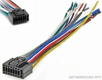 amazon com getwiredusa 16 pin car audio wire harness, stereo power Anthena TV Car Audio Wiring