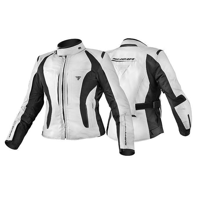 Shima Chaqueta de mujer para motociclismo Volante/ /Resistente al agua con tejido protector transpirable