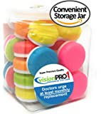 Contact Lens Case, Vision Pro 1, (Pack of 12) in convenient storage jar.
