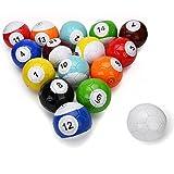 16 Pcs Gaint Snookball Snook Ball Snooker Street Soccer Ball Game Huge Billiards Pool Football Sport Toy Poolball
