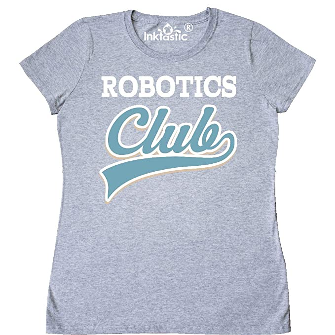 Amazon Com Inktastic Robotics Club Women S T Shirt Clothing