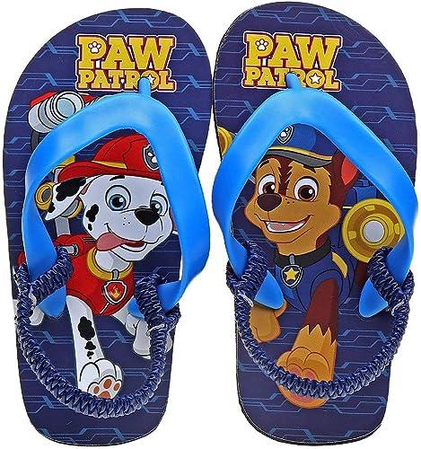 PAW Patrol Boys' Flip-Flops - Navy Blue