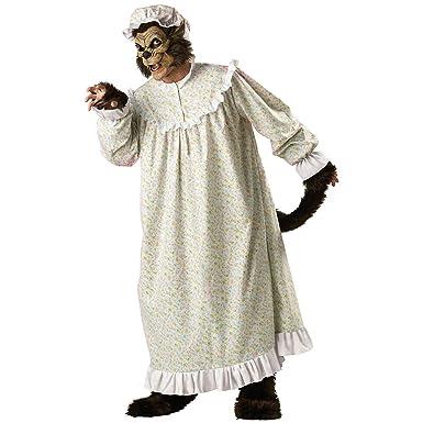 Amazon Com Big Bad Wolf Adult Costume Large Clothing