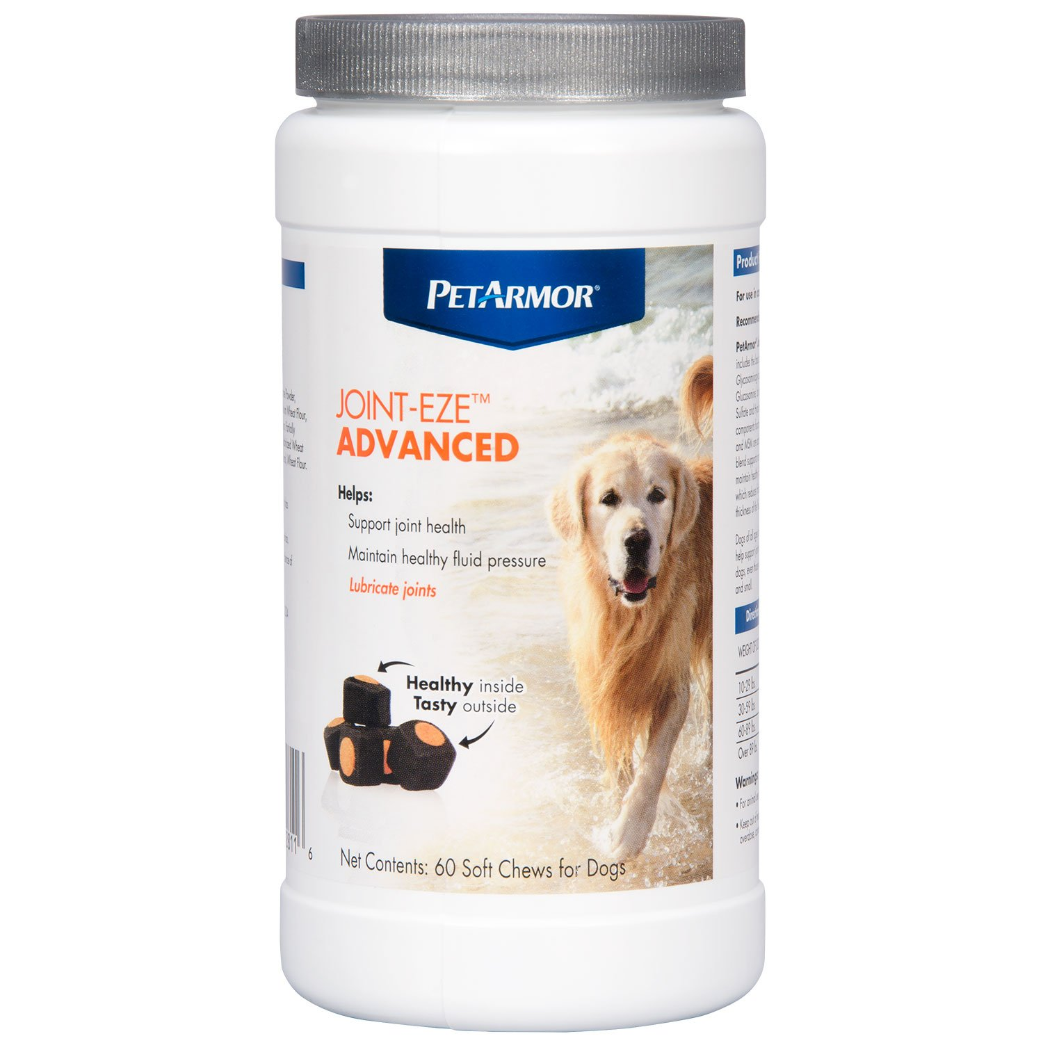 PETARMOR Joint-Eze Advanced for Dogs, 60 count by PETARMOR (Image #2)