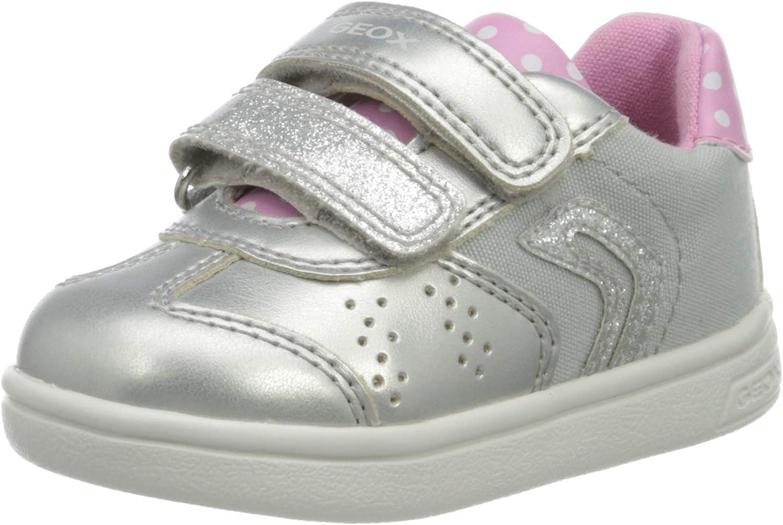 Geox B Djrock Girl A, Zapatillas para Bebés