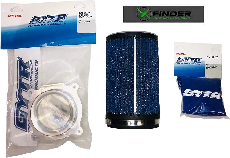 Yamaha Raptor 700 GYTR Hi-Flow Genuine OEM Air Filter Kit; Includes X-Finder Sticker