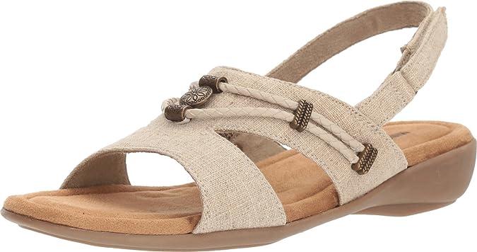 Minnetonka Womens Silvie Cushioned Footbed Slingback Sandals Shoes BHFO 0652