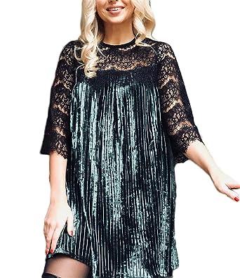 XUXU Dress Female New Vintage Christmas Dress Vestido Fashion Velvet Dresses For Women Plus Size With