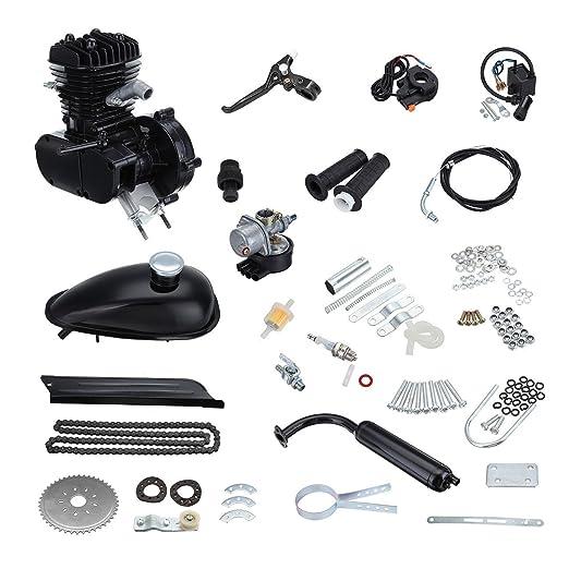 5 opinioni per MountainNet 80cc 2 Tempi Benzina Motore A Gas Kit Motore per Motorizzato Bici