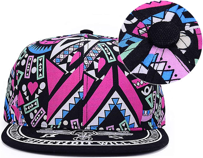CHENTAI Unisex Baseball Cap Men Hip Hop Streetwear Cotton Adult Baseball Cap Graffiti Totems Print Hip-Pop hat