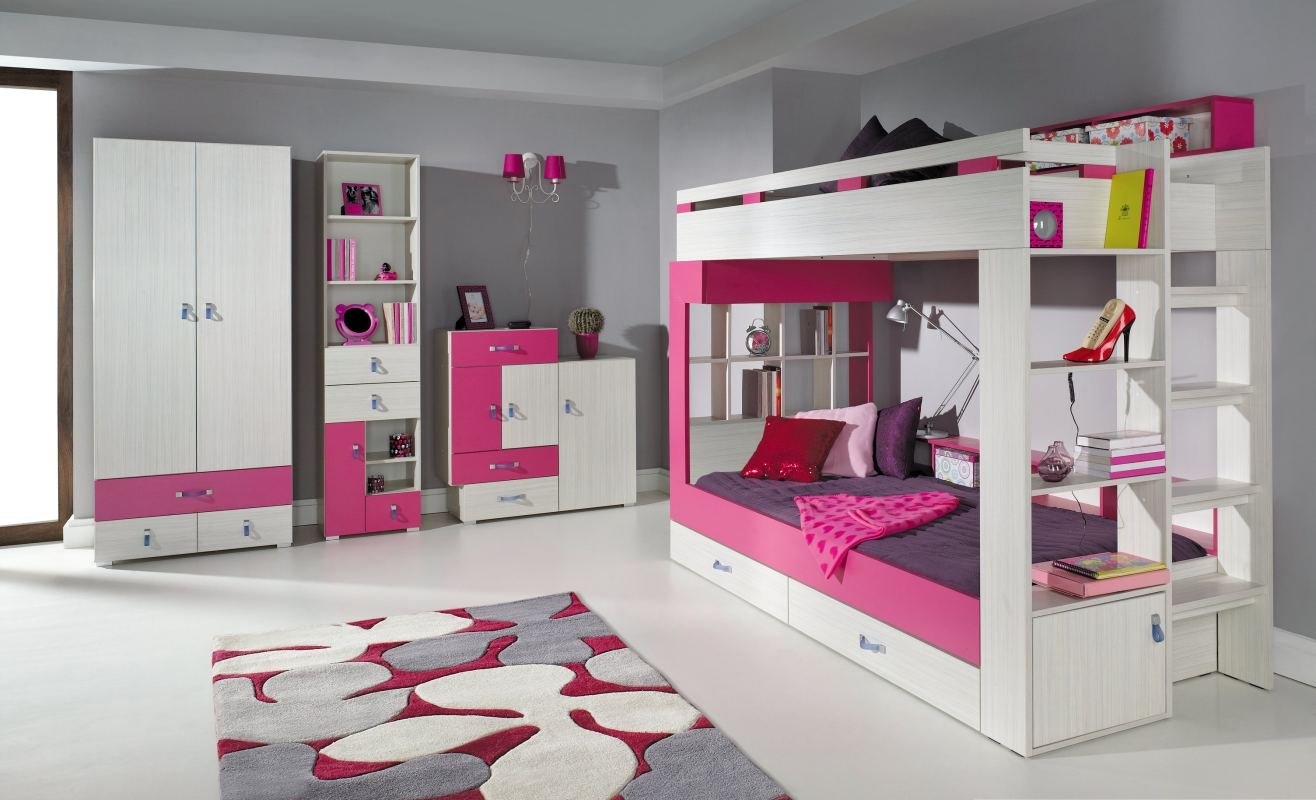 Kinderzimmer Komplett - Set A