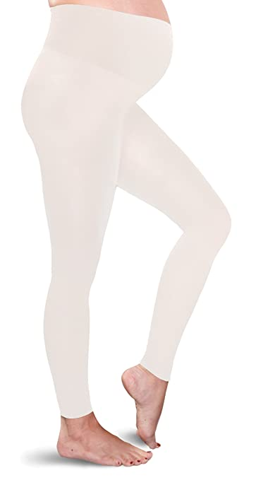 b71442b92ca17 Image Unavailable. Image not available for. Color: Preggers Maternity  Footless Tights ...