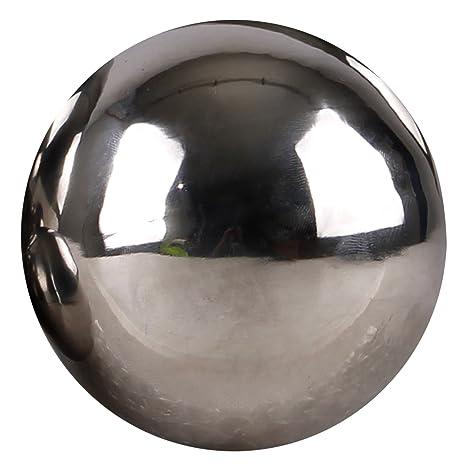 Acero inoxidable bola decorativa Natación bola Estanque Ø15 ...