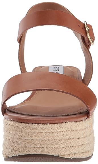 50a8b871c4e9 Amazon.com  Steve Madden Women s Busy Wedge Sandal  Shoes