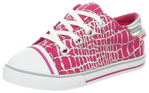 Umi terri - zapatillas de béisbol de lona niña, color rosa, talla 24: Amazon.es: Zapatos y complementos