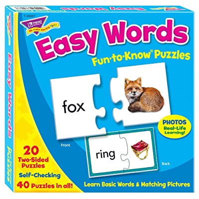 Fun-to-Know® Puzzles: Easy Words: Toys & Games