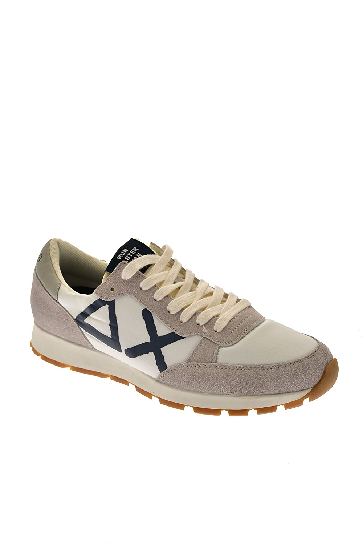 SUN68 Herren Sneaker Bianco Billig und erschwinglich Im Verkauf