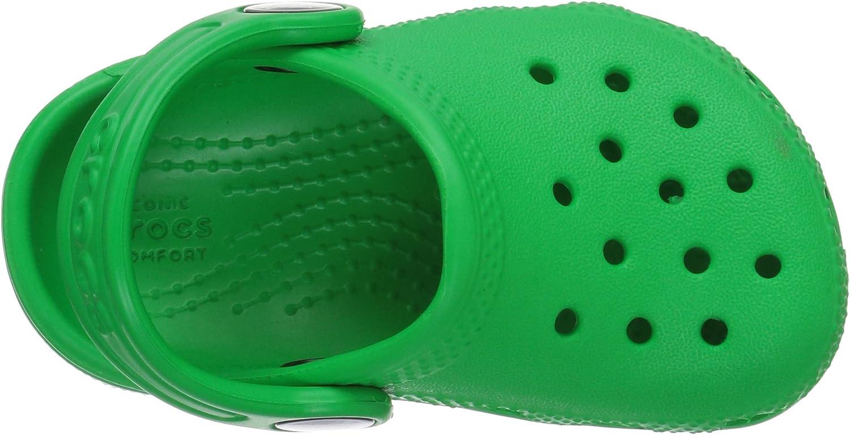 Crocs Classic Clog Kids Sabots mixte enfant Grass Green 24//25 EU Vert