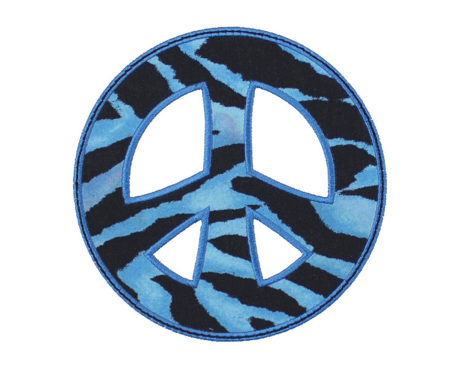 """1/"""" Numbers Your Choice Iron on Applique//Embroidered Patch Blue"""