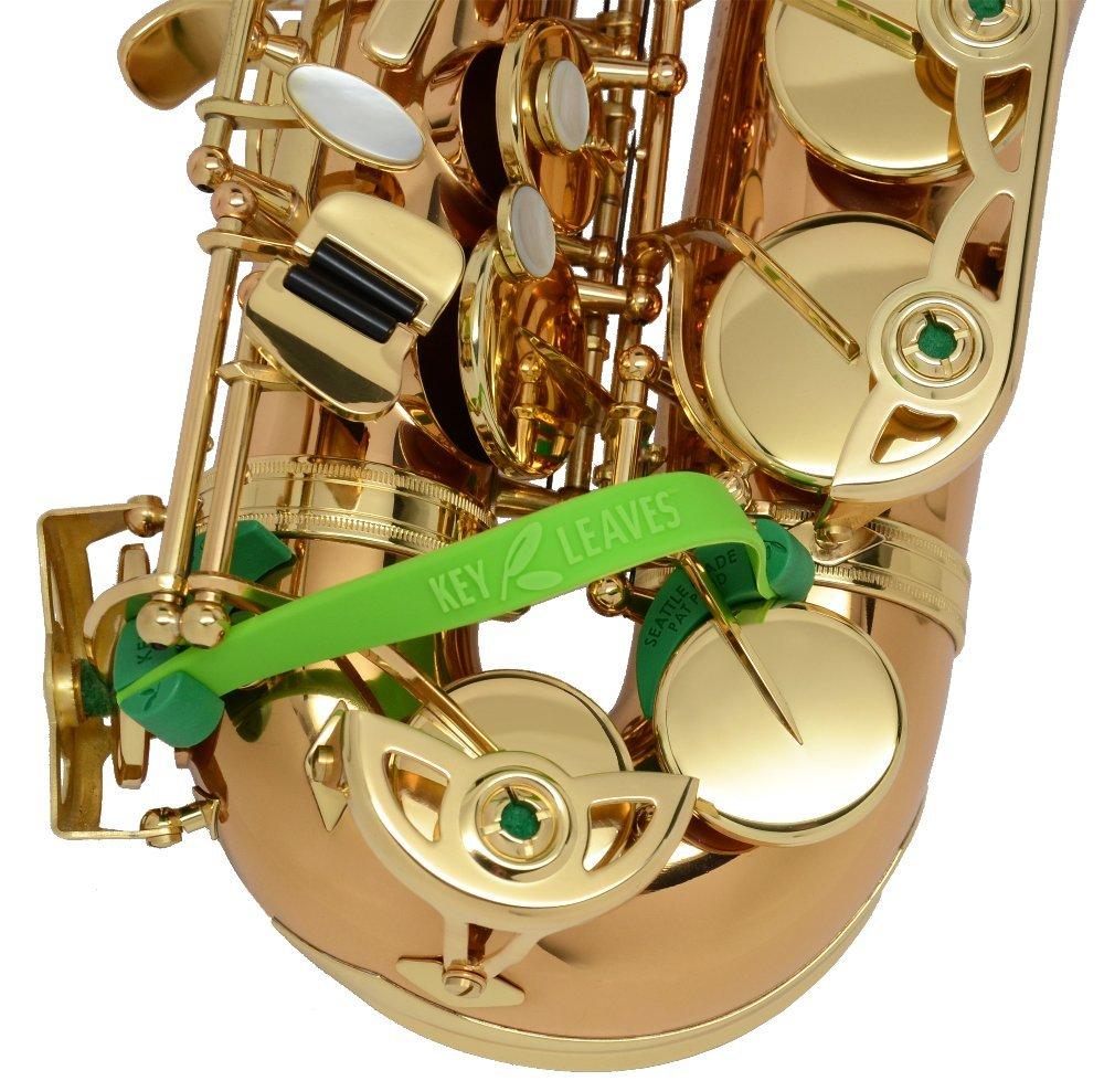 Key Leaves - saxophone key props for Alto, Tenor, Bari, Bass or C Melody sax