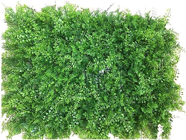 Xiaolin Arbustos Artificiales Verdes Paneles, Ivy Grass Hedges Panels Planta Muro Jardín Cerca Decoraciones de la Boda (Color : 05): Amazon.es: Hogar