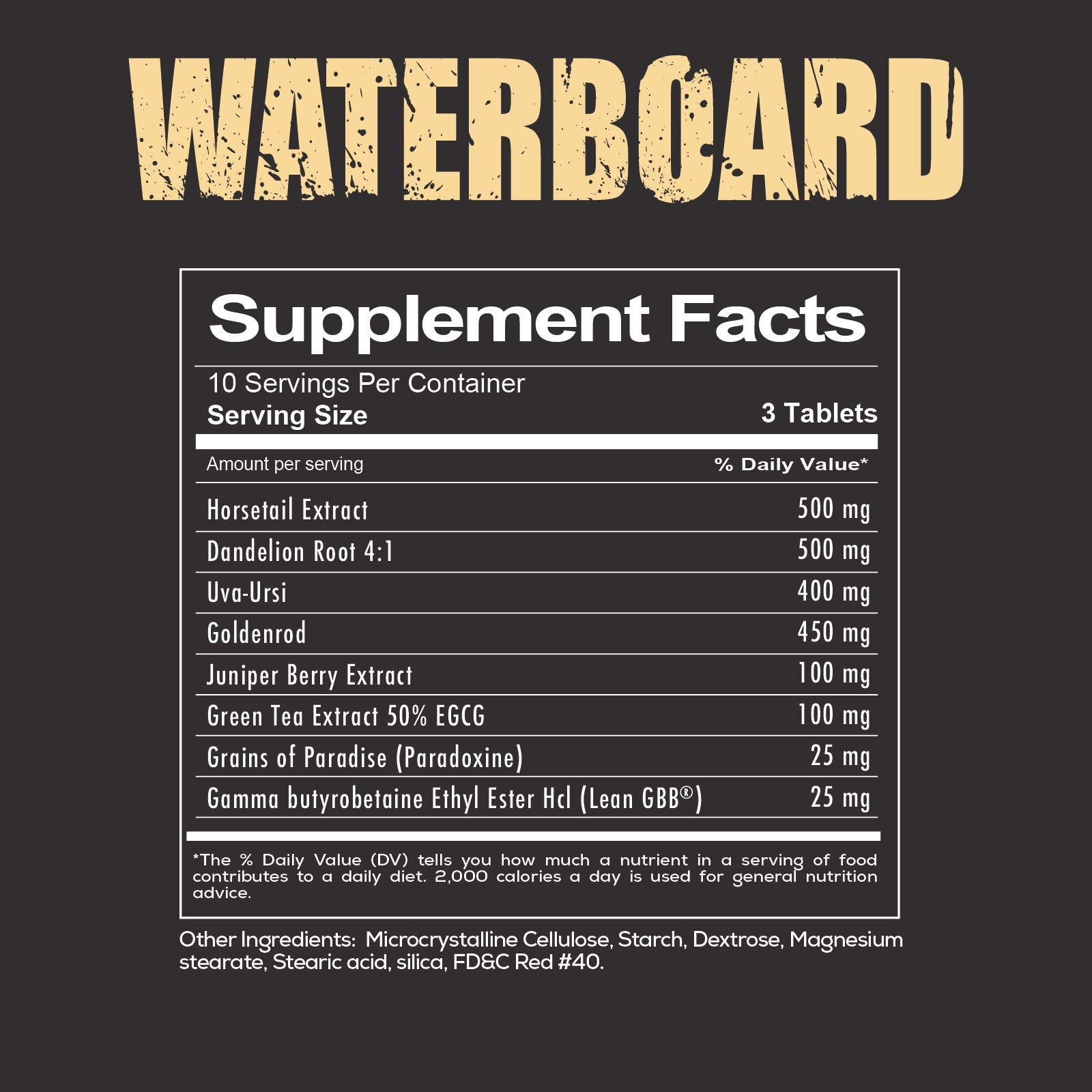Waterboard - Water Loss Formula by Redcon1 (Image #2)