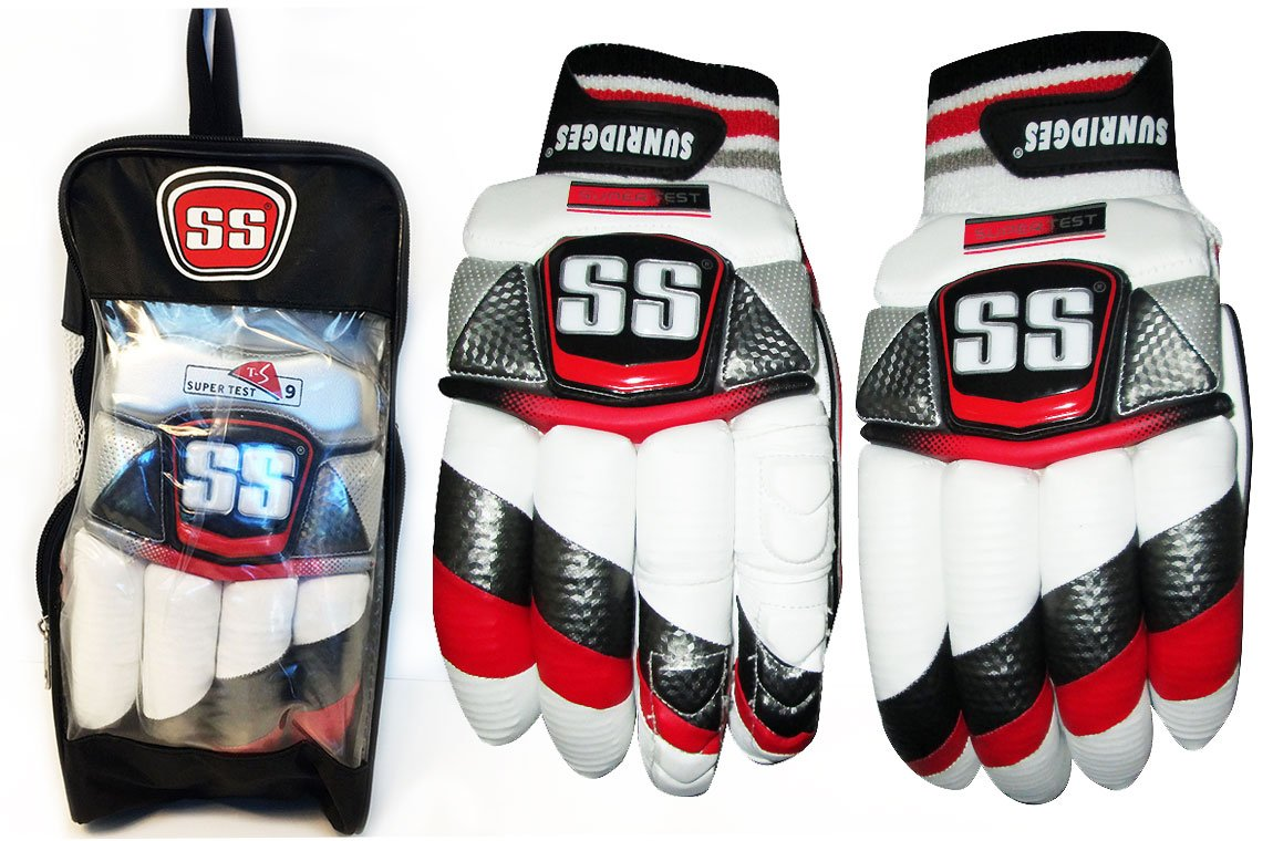 SS Batting Gloves SUPERTEST SOFT FILL by Sunridges (Men Right Handed)