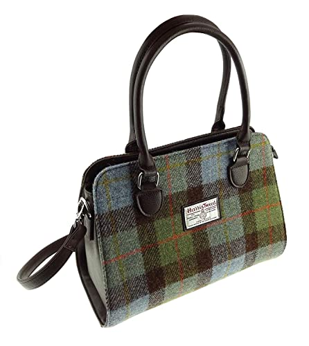 45aa992aef8 Ladies Authentic Scottish Harris Tweed Midi Tote Findhorn Bag Available In  Various Colours (COL 15