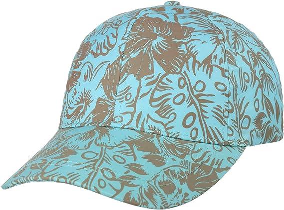 Seeberger Marile Flowers Cap Sommercap Damencap Sonnencap Mit Schirm