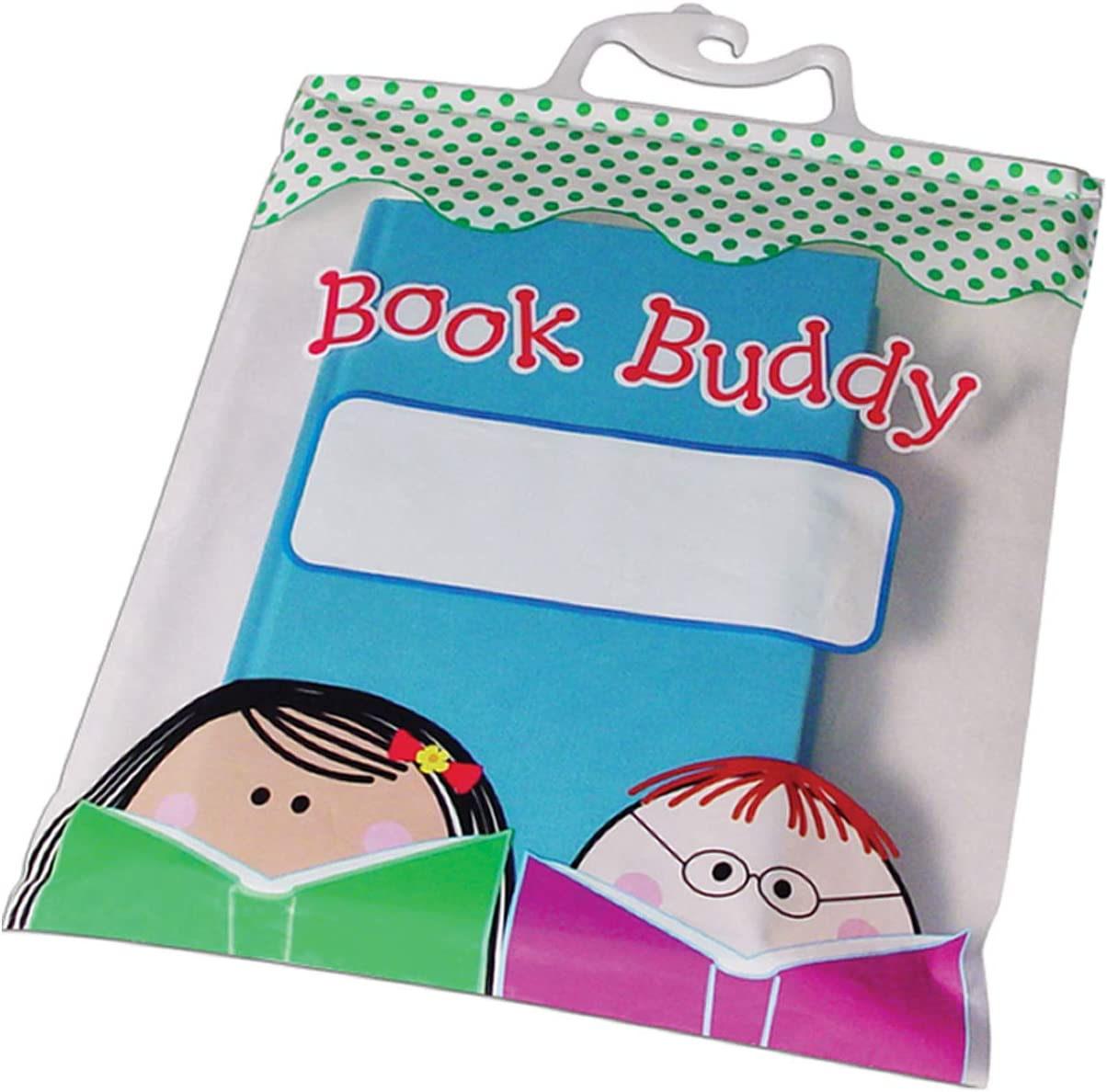 Creative Teaching Press Book Buddy Bags - 10 x 12 inches - Pack of 6